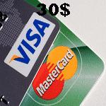 ویزا كارت مجازی 30 دلاری