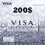 گيفت كارت 200 دلاری مستر کارت