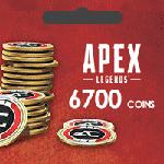 گیفت کارت Apex Legends 6700 Coins