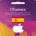 خرید گیفت کارت آیتونز اسپانیا