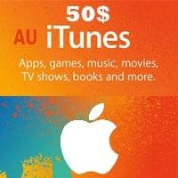 گیفت کارت 50 دلاری اپل استراليا