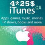 گیفت کارت 100 دلاری اپل كانادا