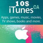 گیفت کارت 10 دلاری اپل كانادا