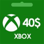 گيفت كارت 40 دلاری ايكس باكس xbox