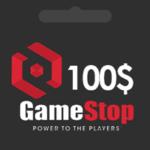 گیفت کارت 100 دلاری گیم استاپ gamestop