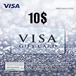 ویزا کارت 10 دلاری