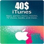 گیفت کارت 40 دلاری اپل ایتونز