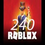 240 روباکس بازی روبلاکس