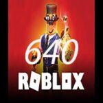 640 روباکس بازی روبلاکس