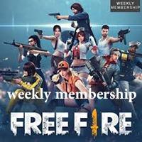 عضویت هفتگی فری فایر