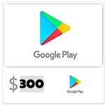 شارژ 300 دلاری اکانت گوگل پلی